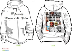 The Darker Side of Evil Hoodie