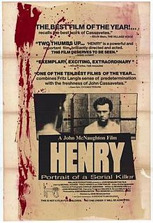 HENRY; PORTRAIT OF A SERIAL KILLER